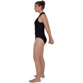 speedo Hydrasuit Flex Badeanzug Damen black/oxid grey